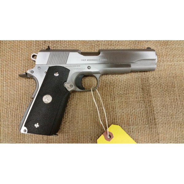 Colt Mark IV Series 80 Government Model Stainless