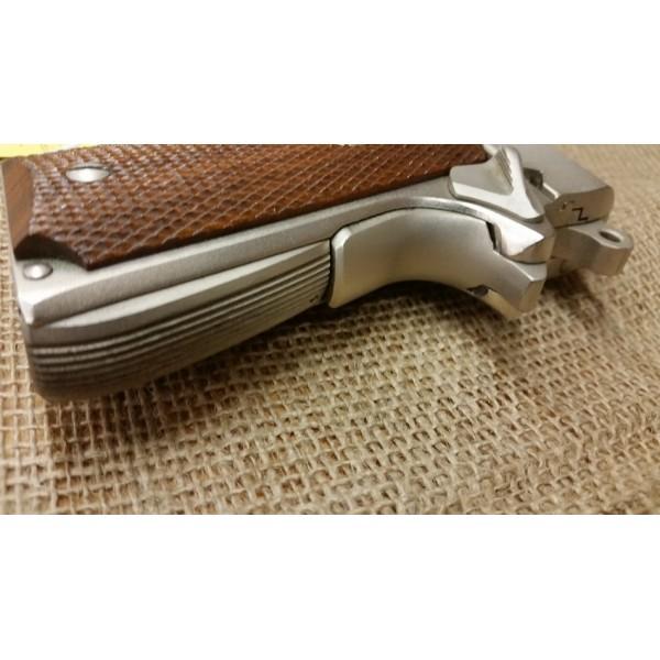 Colt Combat Commander 45acp Satin Nickel