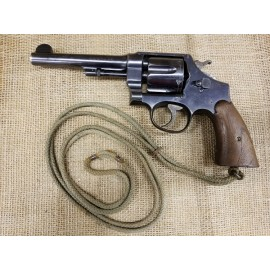 Smith and Wesson 1917 US Property marked 45 ACP revolver