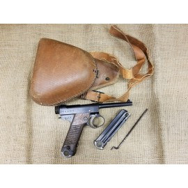 Japanese Type 14 M14 Nambu Pistol 1943 with Holster