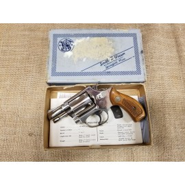 Smith and Wesson Model 39 no dash nickel in box