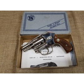 Smith and Wesson Bodyguard Model 49 nickel in box
