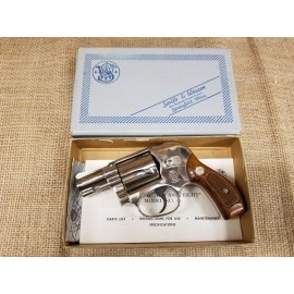 Smith and Wesson Model 38 Bodyguard Airweight nickel in box