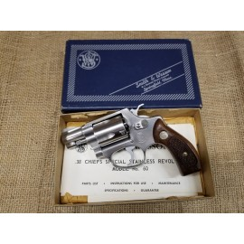 Smith and Wesson Model 60, with box no dash