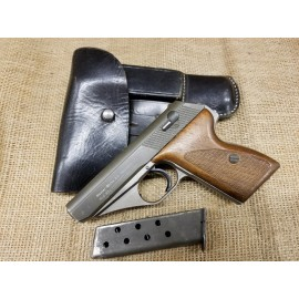 Mauser HSc war production with holster, extra mag