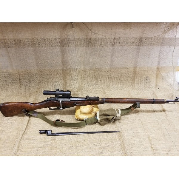 Finnish Mosin Nagant 91\30 sniper with Scope