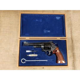 """Smith and Wesson Model 27-2 6"""" Presentation Case and Tools"""