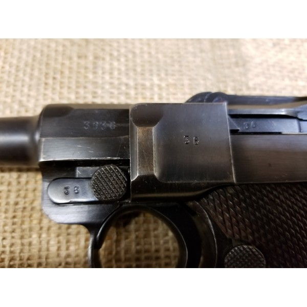 Luger Mauser 1937 S/42 Code