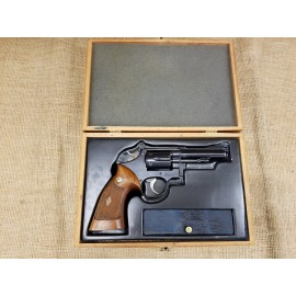 "Smith and Wesson Pre Model 18 4"" 22lr revolver, 1953"
