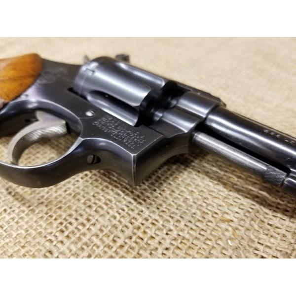 "Smith and Wesson Pre Model 18 4"" 22lr revolver, 1953"