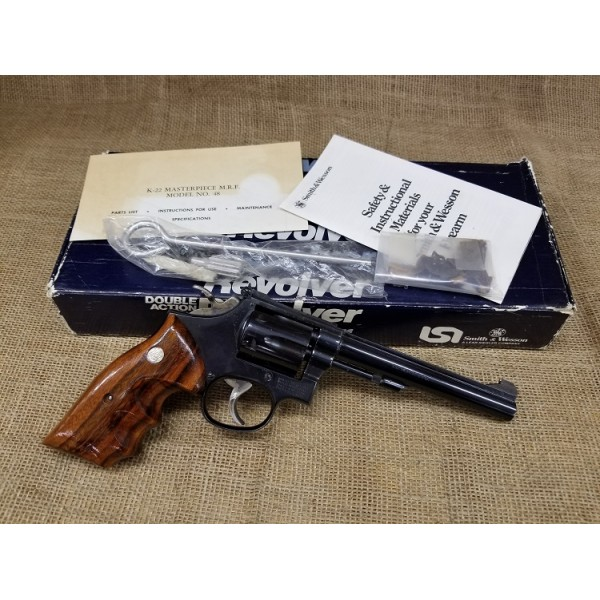 Smith and Wesson Model 48 22MRF