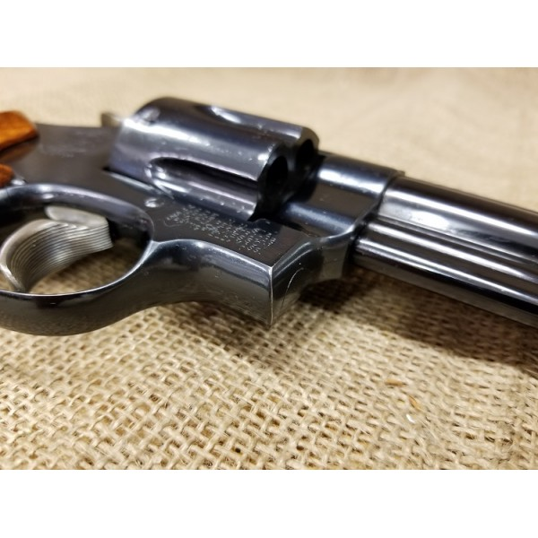 Smith and Wesson 57 with wood box
