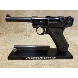 Luger Russian Capture East German VOPO Mauser P08