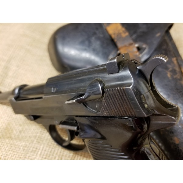 P38 SVW 45 Pistol with Holster