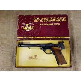High Standard Model 106 Military Supermatic Trophy with box