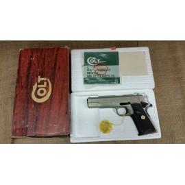 Colt 1911A1 Series 70 in Satin Nickel 45cal. Orignal Box