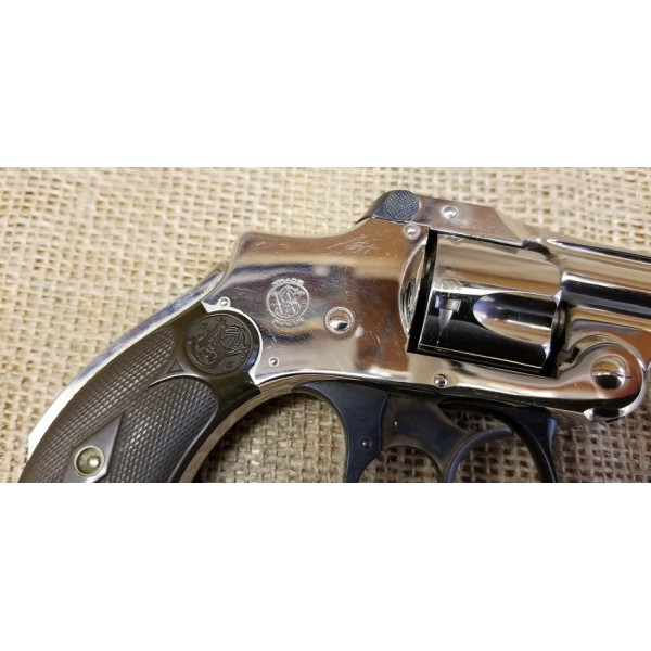 Smith & Wesson Lemon Squeezer 32cal. Nickel