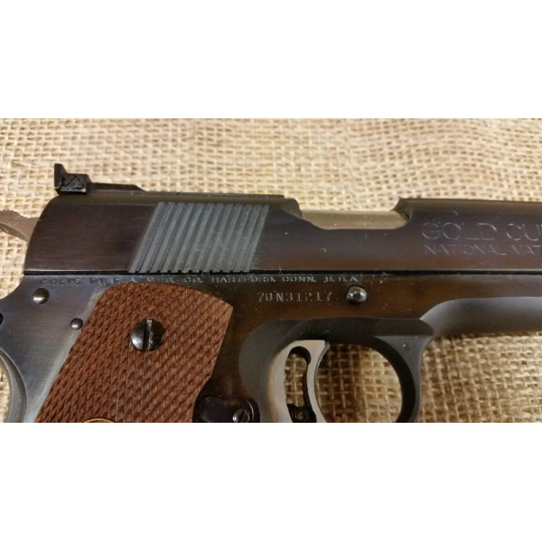 Colt 1911A1 Mark IV Series 70 Gold Cup National Match 45cal.