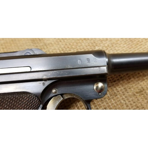 Luger DWM 1911 with Regimental Markings