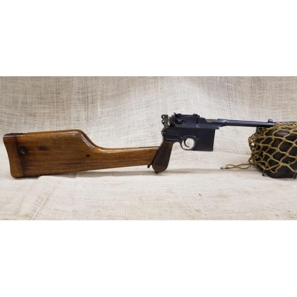 1896 Commercial Mauser Broomhandle with Matching Stock