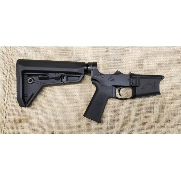 Aero Precision M4E1 Complete Lower Receiver with MOE SL Grip and SL Carbine Stock