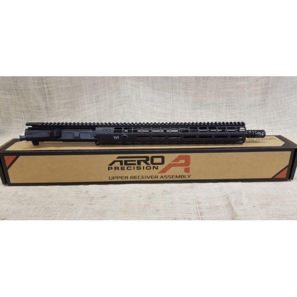 "Aero Precision M4E1 Assembled AR 15 Upper Receiver 5.56x45mm Mid-Length 16"""