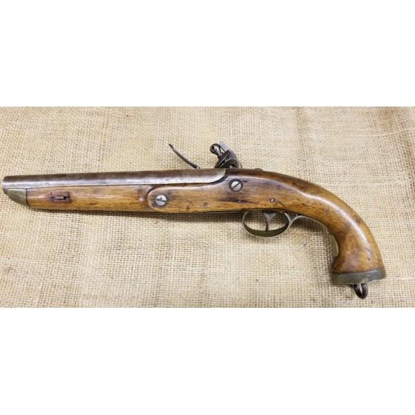 Belgian Military Flintlock Horse Pistol c. 1790 - 1820
