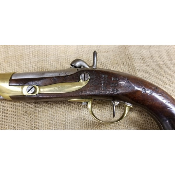 Model 1822 French T bis Tulle Percussion Pistol