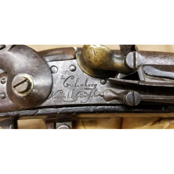 French Columberg Model 1777 Flintlock Musket