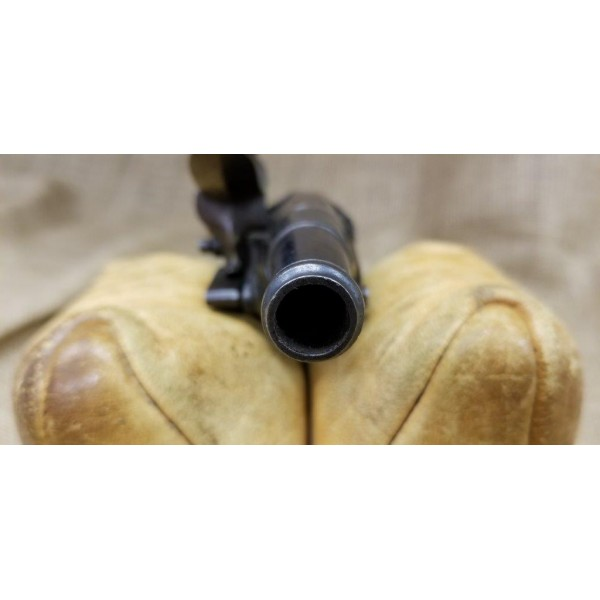 French Cannon Barrel Great-Coat Flintlock Pistol