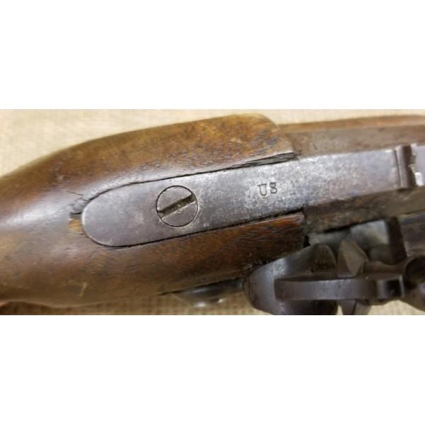 H. Deringer Phila. U.S. Model 1808 Flintlock Pistol