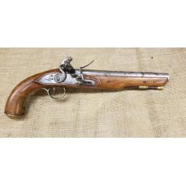 British Flintlock Pistol by George Jones