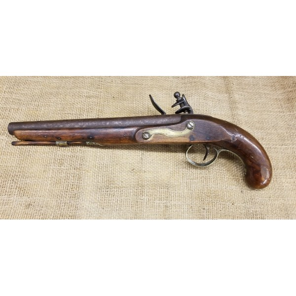 Federal War of 1812 Period American Flintlock Pistol