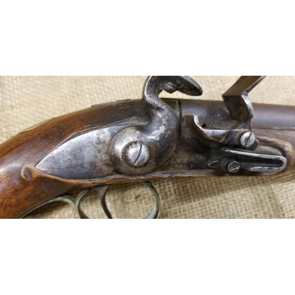 Federal War of 1812 Period American Flintlock Pistol