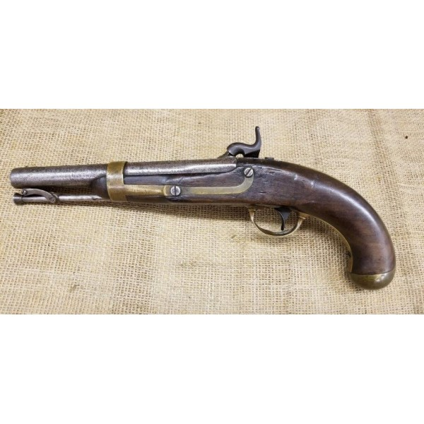 Henry Aston U.S. Model 1842 Percussion Pistol