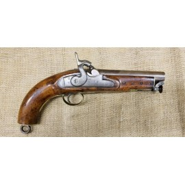 British Coast Guard Percussion Pistol by B. Woodward & Sons