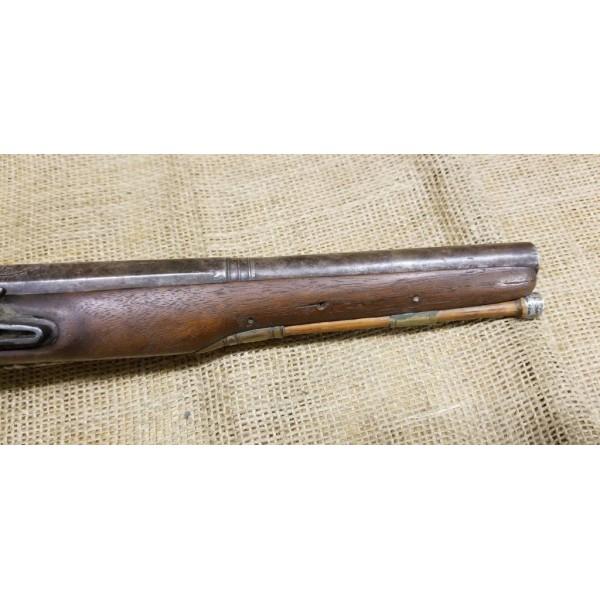 British Clark Gentleman's Flintlock Pistol