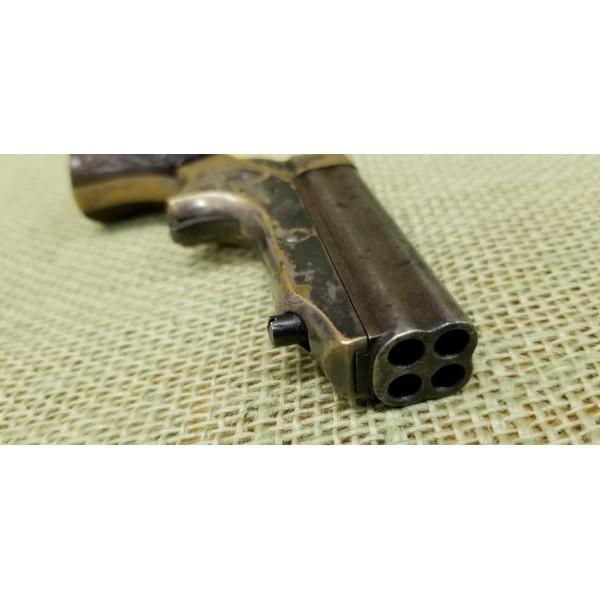 C. Sharps & Co. 4 barrel 22 short derringer