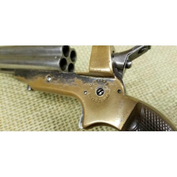 C. Sharps & Co. 4 Barrel 32 Rimfire Derringer Model 2A